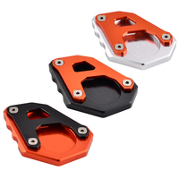 NICECNC Aluminum Kickstand Side Stand Extension Plate Pad For KTM 1050 1090 1190 1290 Adventure 2013