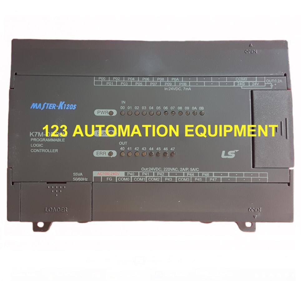 New original box  K7M-DR20UE LS K120S series PLC Elementary unitNew original box  K7M-DR20UE LS K120S series PLC Elementary unit