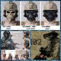 Free Shipping CS M02 Full Face Protection Skull Masks Scary Cool Paintball Masks Toys Halloween Costumes Horror Prank Joke Gifts