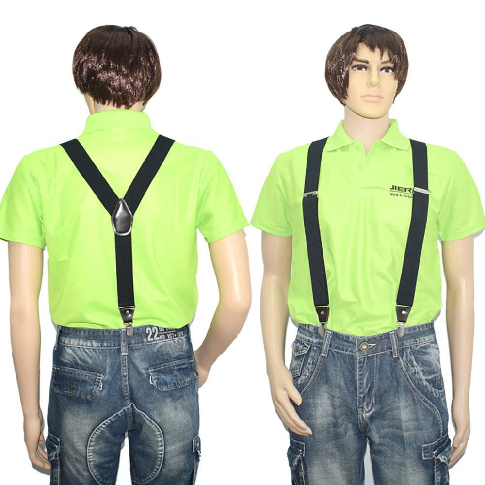 New Arrivals Men's Shirt Stays Cross Braces Y-Back Shirt Holders Near Adjustable Shirt-Stay Suspenders Ceinture Dropshipping C