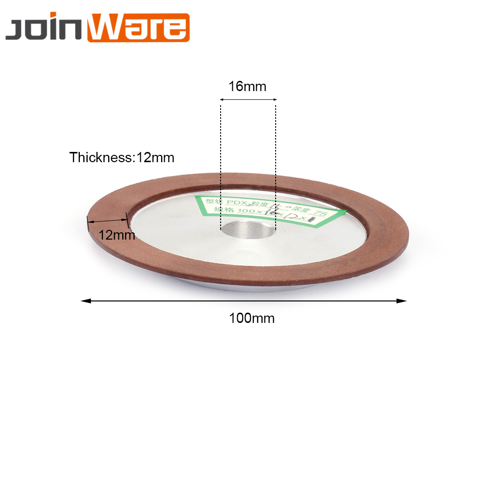 4 Inch 150# Concentration 75% Diamond Grinding Wheel For Milling Cutter Tool Power Tool Sharpener Grinder Accessories