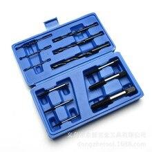 Блок для удаления винтов с головкой 12 шт. пластиковая коробка(№ 1-6 для удаления плюс 6 сверла в патрон бит) Специальная цена