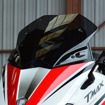 Akcesoria motocyklowe dla Yamaha tmax530 TMAX 530 2012-2013-2014-2015-2016 12 16 przedniej szyby czarny przedniej szyby tanie i dobre opinie Szyby przednie wiatru deflektory Uniwersalny For TMAX 2012-2016 000inch 0 5kg WindScreen MSUEFKD