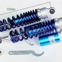 EMS или DHL 320 мм синий RFY воздушный Газовый амортизатор подходит для ZR-X 400 ZR-X 1100 ZR-X 1200 R/S Универсальный