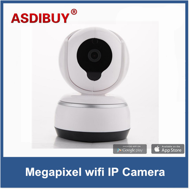 P2P IP Camera 720P HD Wifi Wireless Baby Monitor PTZ Security Camera Night Vision Micro SD Card recording Wi fi home security escam qf100 p2p ip camera 720p hd wifi wireless baby monitor pan tilt security camera onvif night vision support micro sd card