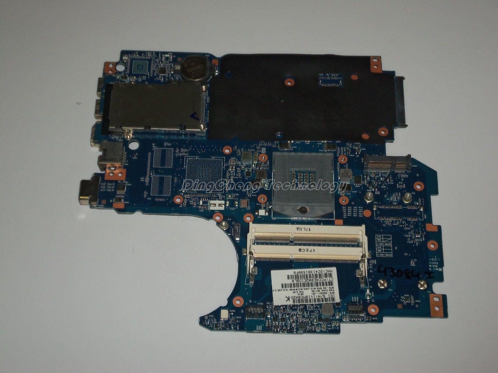 For HP 4530S 4730S 658341-001 Original laptop Motherboard for intel cpu with HM65 integrated graphic card DDR3 100% tested fully аэратор д смесителя remer m24 с нерж сеточкой