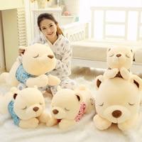 Soft Bed Papa Giant Teddy Bear Plush Dolls Girl Toys Kawaii Stuffed Animal Bear Cushion Pillow Toys Valentine's Day Gift BF064