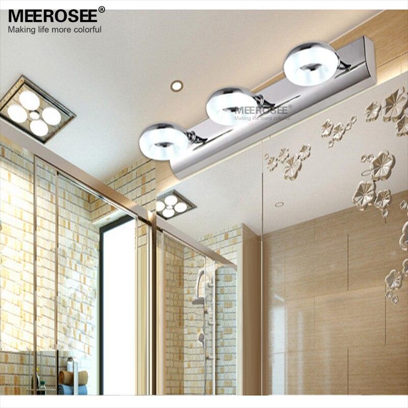 iluminacin llevada de la pared del bao lmpara luz espejo moderno lmpara de pared para bao vestidor led w w pared lustres envo rpido en led