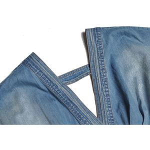 Image 4 - أزياء جديدة لمنصة عرض الأزياء لعام 2020 طقم بدلة سيدات أنيق بياقة على شكل v فستان من قماش الدنيم + تنورة من الدانتيل طقم بدلة من قطعتين