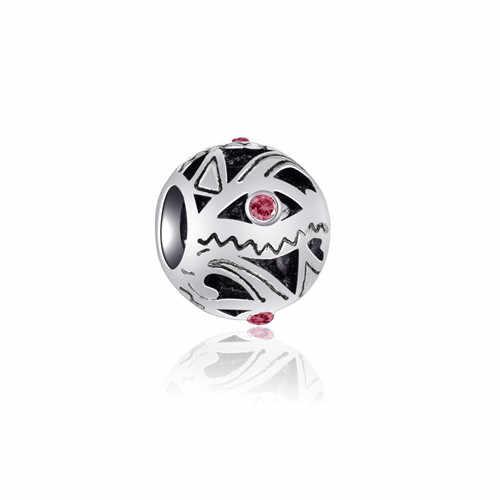 คริสตัลผีเสื้อ Evil Eye Mickey Mouse Heart ลูกปัด Pandora Charms จี้สร้อยข้อมือผู้หญิง DIY เครื่องประดับ