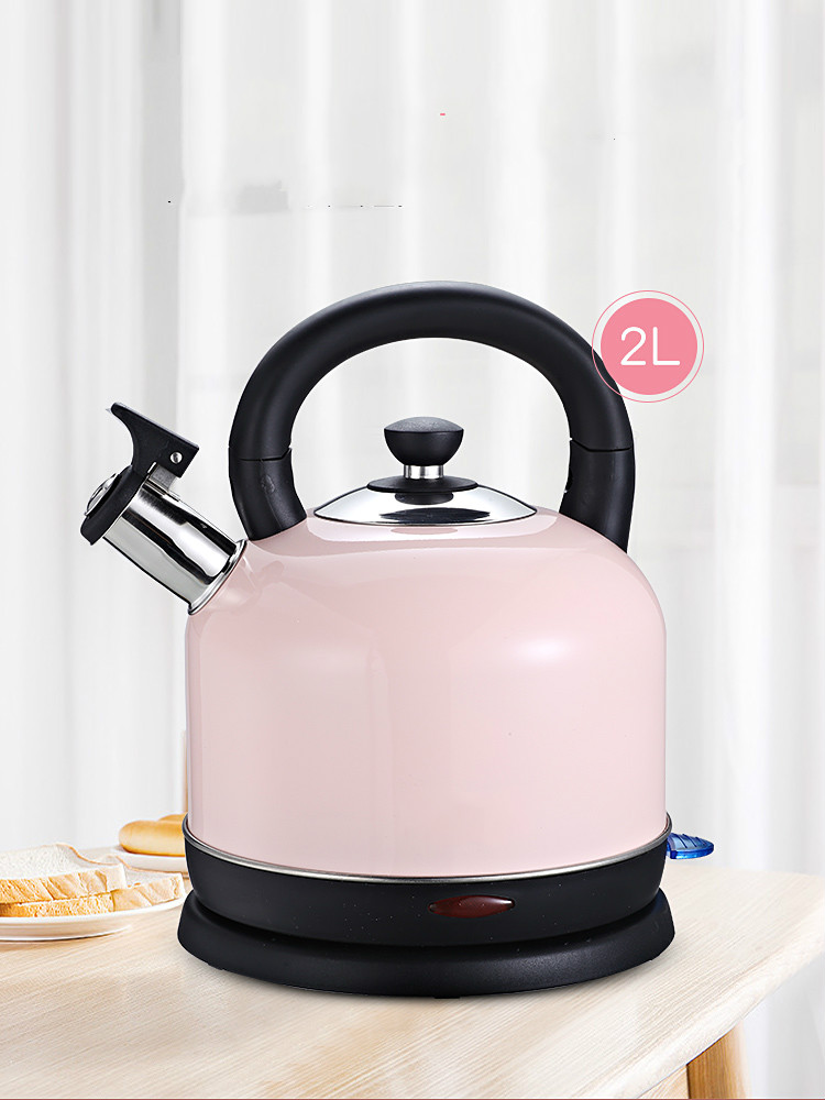 Electric kettle household appliance large capacity 304 stainless steel automatic power cut boiling electric kettle boiling pot 304 stainless steel home insulation 1 5l