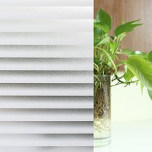 Funlife 90x200cm Window Self-adhesive Privacy Film, Vinyl static, Frosted Louver Patterns Glass Decoration Sticker
