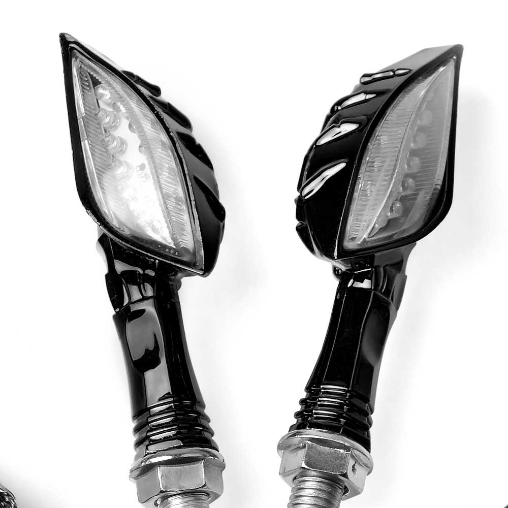 Luz intermitente para motocicleta 12V luces traseras LED intermitente lámpara para suzuki gsxr 600 bandit 600 drz 400 bandit 400 gsxr 1000 gs500