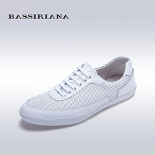 BASSIRIANA Genuine leather Lace-Up Round Toe Casual shoes for men