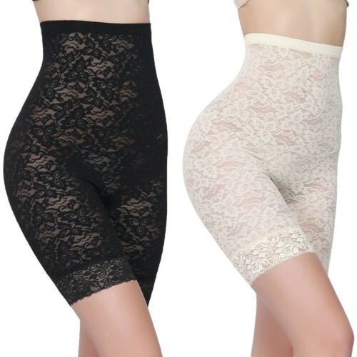 New Women Lace Slimmer Body Shaping Pants Corset High Waist Tummy Shaper Pants