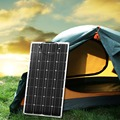 Dokio 12 в 100 Вт монокристаллическая Гибкая солнечная панель  портативная солнечная панель 100 Вт для автомобиля 16 В/лодки/дома  солнечная панель ...