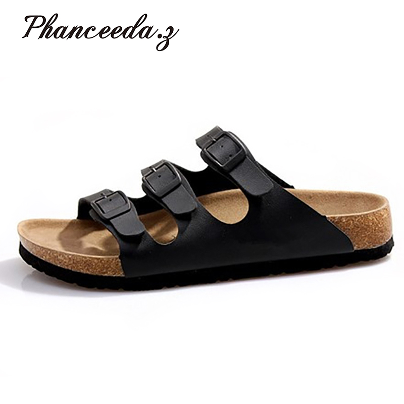 e9c1a858e012 Plus size 5-11 summer style shoes woman sandals Cork slippers Top quality  casual shoe
