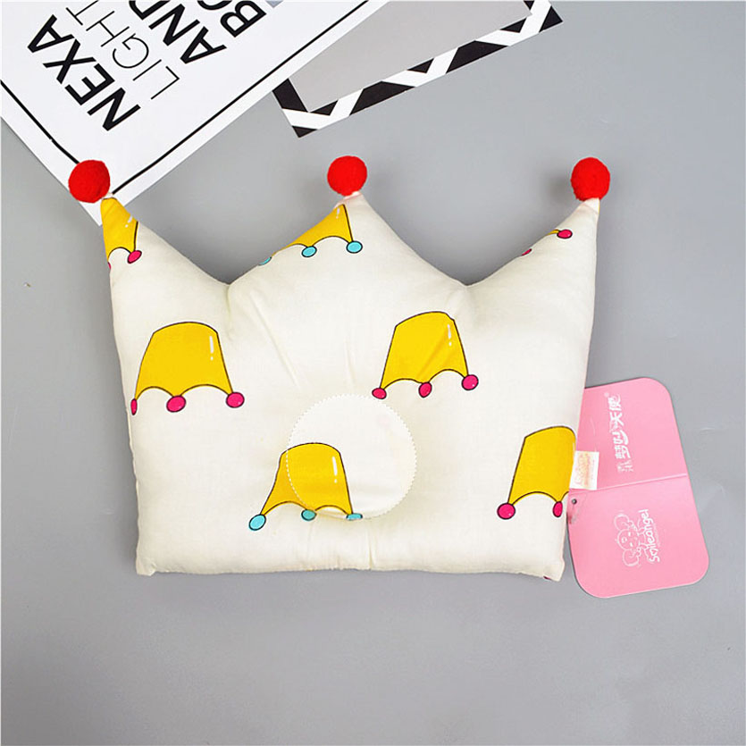 Baby Pillow Babykamer Decoratie Anti Flat Head Nursing Pillow For Infant Crown Shape Pillow For 0-2 Years Kids Baby Room Decor