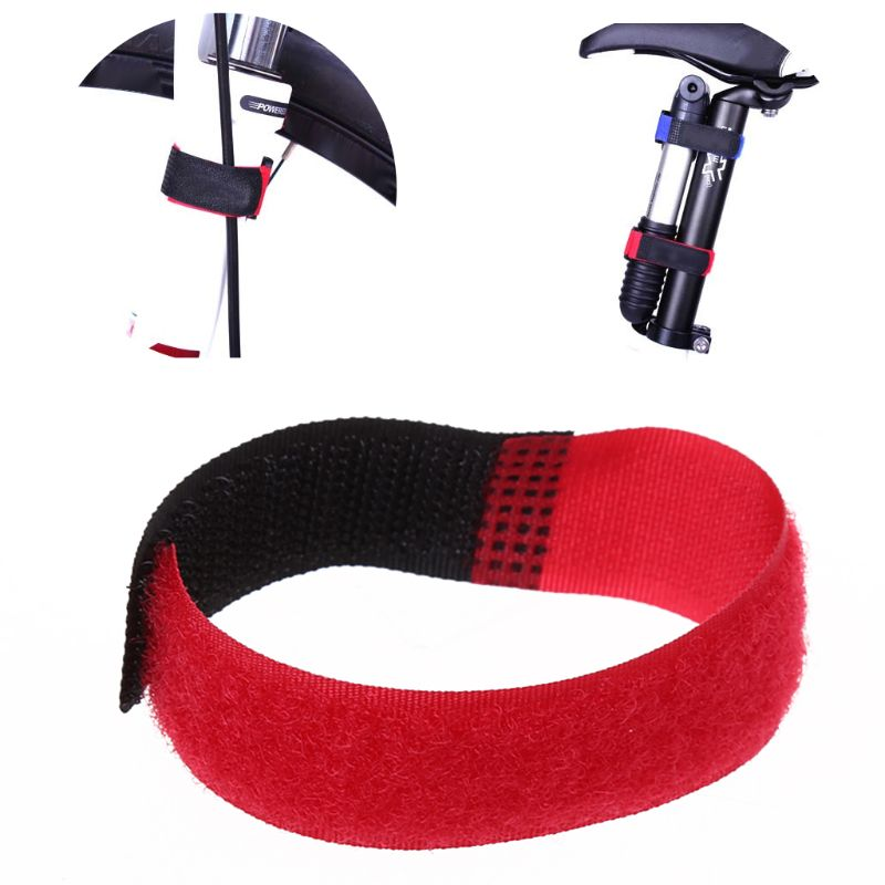 18cm Bicycle Fixing Strap MTB Road Bike Handlebar Fixed Tape Bicycle Tie Rope Cycling Riding Pump Bottle Fastening Bands Bandage