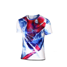 2016 short-sleeved clothing brand newing t-shirts Captain America fashion movement short sleeve T-shirt is tight short sleeve