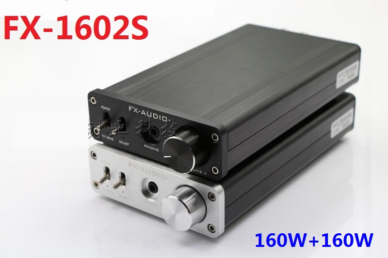 все цены на 2017 FX-Audio FX-1602S high power 160W*2 digital audio amplifier Bluetooth receiver with TPA6120 headphone amplifier DC32V/5A онлайн