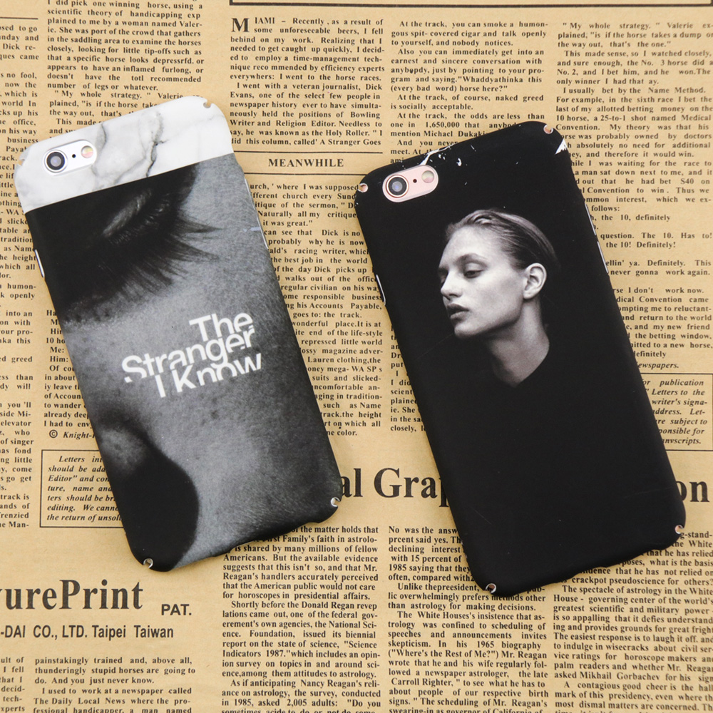 Anti-Knock Mobile Phone Cover For iPhone 6 6s 7 8 Plus Case Mysterious Girl Back Cases For iPhone 7 8 6 Phone PC Hard Shell P30