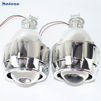 Safego Bi Lens With Shroud 2.5inch Projector Lens For H4 H7 HID Projector Lens H1 H11 9005 9006 Car Hid Headlight