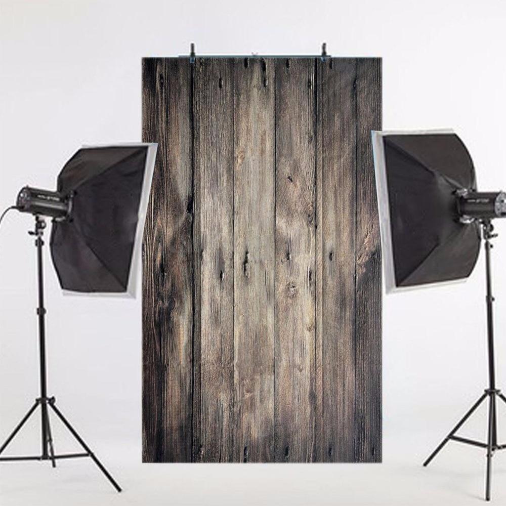0.9x1.5M 3x5FT Retro Photography Backdrop Floor Photo Background Lighting Studio Video Backgrounds Wood Screen Chromakey