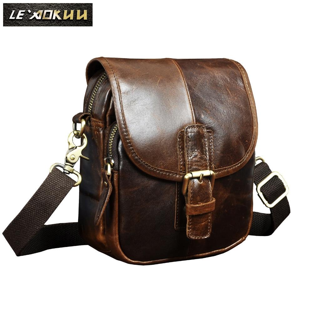 Fashion Leather Multifunction Travel Crossbody Shoulder Bag Coffee Design Cigarette Case 6 Phone Pouch Waist Belt