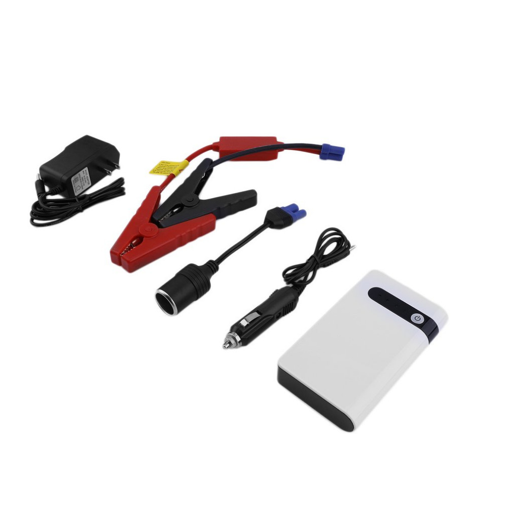 New jump starter White 1 Set US Plug 12V 20000mAh Mini Car Jump Starter SOS Emergency Charger Power Bank Battery Torch Booster rigal rd606 mini led dlp projector hd portable wifi multi screen pocket pico projector miracast airplay battery active 3d beamer