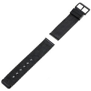 Image 5 - Bracelet de montre en acier inoxydable 20mm 22mm 24mm pour citoyen boucle ardillon sangle lien poignet ceinture Bracelet noir argent + barre de ressort + outil
