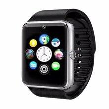 Relógio Inteligente GT08 Shinsklly Homens Mulheres relógio de Pulso Android Smartwatch Inteligente Eletrônica Com Câmera Cartão TF SIM Android telefone inteligente