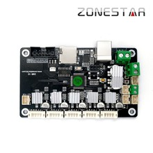 Zonestar ZMIB Reprap 3D Printer Controller Board Highly Integrated Mini Mother board ATMEGA1284P For Z5 Z6 недорго, оригинальная цена
