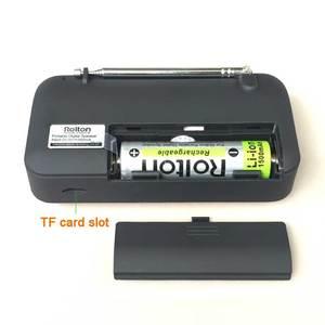 Image 3 - Rolton W405 Digital Portable Mini Mp3 Play Portable Fm radio Music Player Speaker TF USB With Flashlight Money Verify