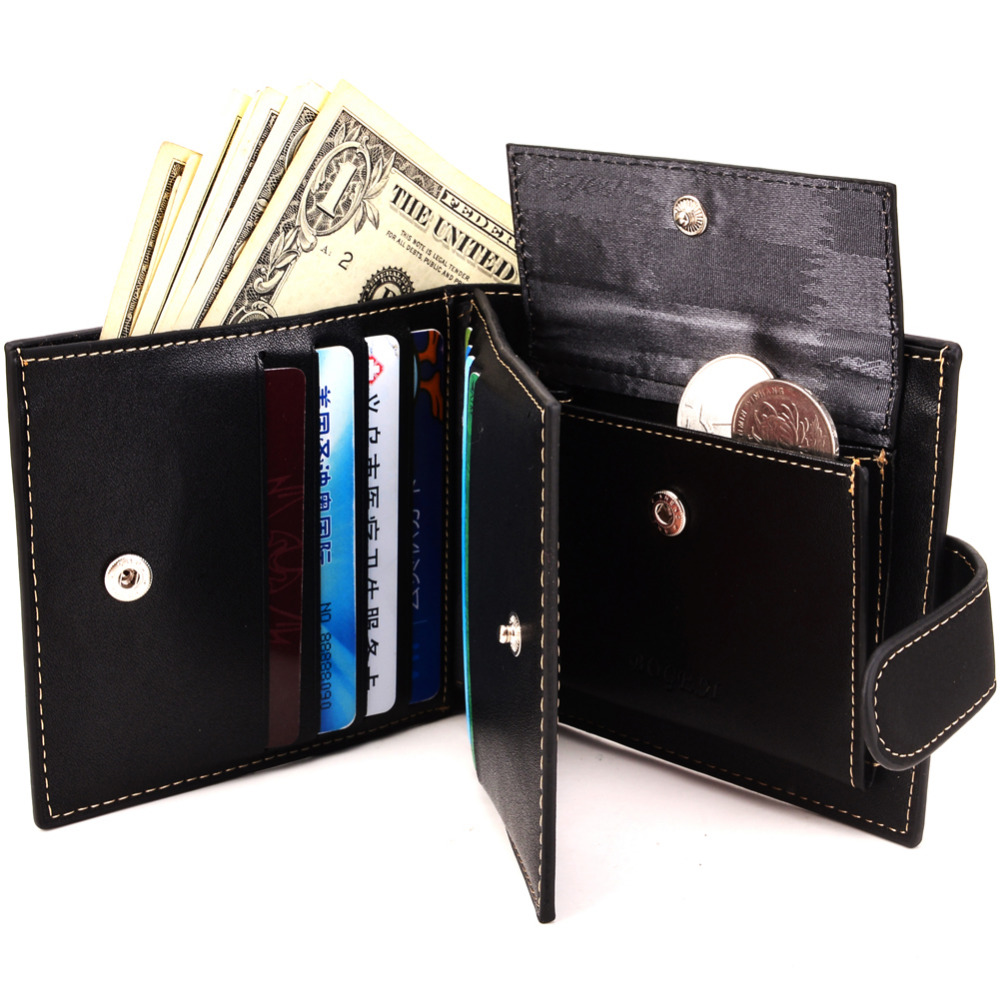Fashion Brand Coin Wallet Wallet Men Clip Cowhide Wallet Men Small Clutches  Men s Purse Coin Pouch Short Men Wallet B20321-4 - us66 b3cd0d1bf4d14