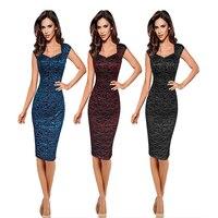 2019 Maxi Dress Sale Nylon Short None Knee length Regular Natural Vadim Women Dress Plus Size Blast Slimming Bag Hip Pencil