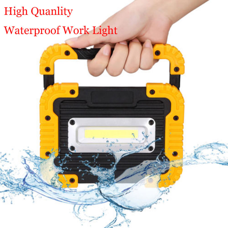 20W LED Camping Lantern Rechargeable Camping Light COB Led 750 Lumens Portable Floodlight Powerbank Lamp For Hiking Tent Light