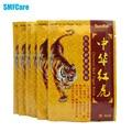 8 Unids Tiger Balm Pain Relief Patch Chino Yeso Dolor de Espalda Alivio Del Dolor de Calor Yeso Médicos Cuidado de La Salud Masaje Corporal K00101