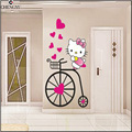 hot movie cat cute Animation Cartoon DIY For Kids Girls Bedroom house decoration Art Decals home Decor Vinyl Wall Stickers