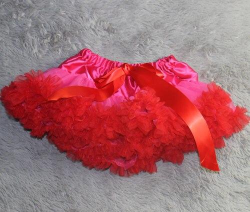 Юбка-пачка Одежда для маленьких девочек; нарядная одежда; юбка-пачка балетная юбка, пачка летняя одежда аксессуары для фотографирования новорожденных, ярко-розовым шифоном - Цвет: red  ruffled