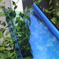 1.52x5m Chameleon Change Color Car Side Rear Windshield Solar Tint Protect Vinyl