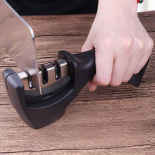 Kitchen Tools Stainless Steel Kitchen Knife Sharpener For Chef Knife Vegetable Knife Utility Knife Cleaver(China)