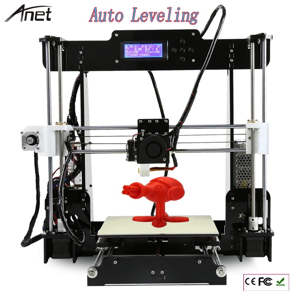 Auto Leveling A8 Normal A8 Reprap Prusa I3 Big Size 220 220 240mm DIY 3D Printer