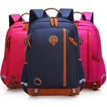 Orthopedic Fashion Children School Backpack School Bags For Boys Girls Waterproof Backpack Teenage Schoolbag Mochila Escolar цены онлайн