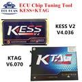 Melhor! mais novo Kess KESS V2 Mestre KESS V2 4.036 V2.30 Sem Tokens Limiation V2 2.30 + Mais Novo 2.13 K Tag KTAG K-TAG OBD2 Sintonia Kit