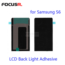 FOCUSR. excellent  High Quality LCD Backlight Repair Part LCD Display Backlight Film for Samsung S6/G920 S6edge G925 replacement