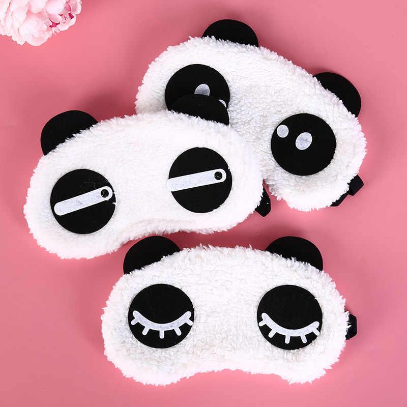 Панда Спящая маска для сна, повязка на глаза наглазник Путешествия сна повязка для глаз забота о здоровье Прямая доставка