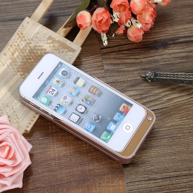 4200mAh Portable Backup Battery Pack Charger Power Bank Power charger Case Cover For Apple iPhone 5 5S SE