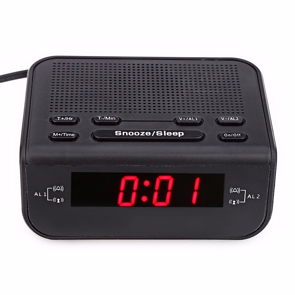 Schnelle Lieferung Tgeth Multi-funktionale Wecker Led-anzeige Despertador Digital-uhr Tragbare Digitale Wecker Kann Als Radio Mp3 Lautsprecher Tragbares Audio & Video Radio