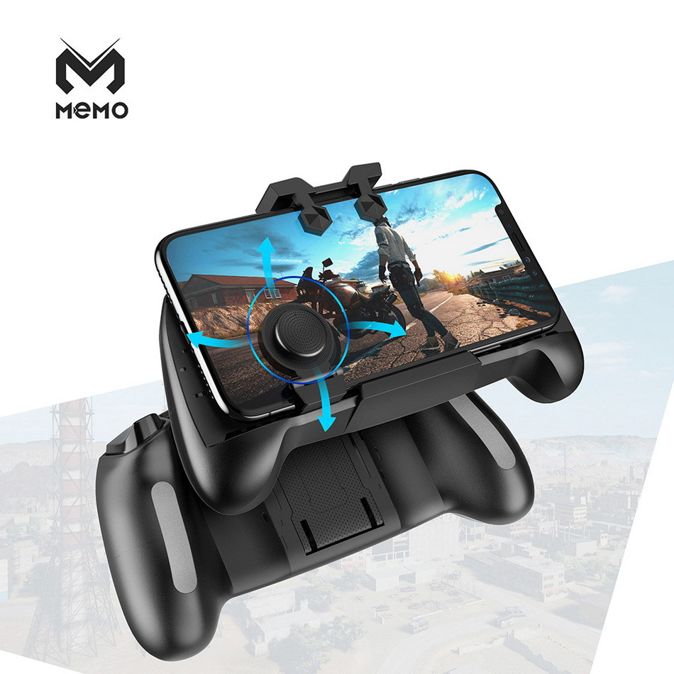 Gaming Joystick Gamepad Mobile Phone Game Trigger Fire Button L1R1 Shooter Controller AK21 For PUBG Game Handle Holder Bracket